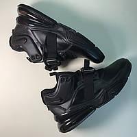 Nike Air Force 270 Full Black, фото 1