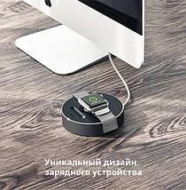 Док станция Ugreen LP119 подставка-держатель для зарядки Apple Watch (Черный), фото 3