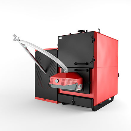 Пелетний котел Marten Industrial T 150 кВт
