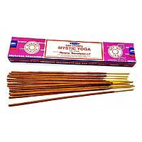 Аромапалочки Mistic Yoga (Мистическая Йога)(15 грамм) (Satya) Масала благовоние