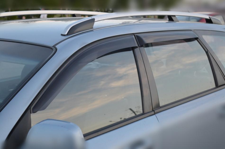 Дефлекторы окон, ветровики Chevrolet LACETTI wagon 2004- Cobra