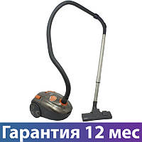 Пылесос Scarlett SC-VC80B01 серый, 1800 Вт, мешок 2.5 л, щетка пол/ковер, насадка мебель/щель