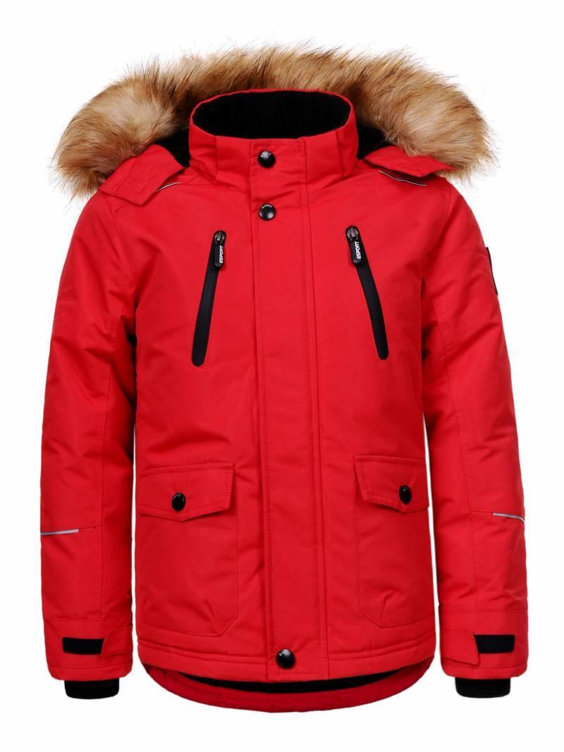 Куртка для мальчика  BMA-9421 красный-128