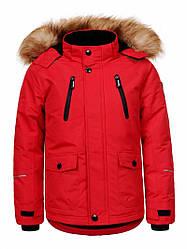 Куртка для мальчика  BMA-9421 красный 92/98-128