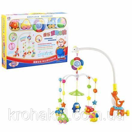 Детский музыкальный мобиль 8501 / музыкальная карусель в кроватку (манеж)