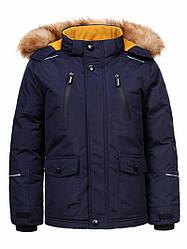 Куртка для мальчика  BMA-9421 синий 92/98,110/116