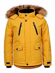 Куртка для мальчика  BMA-9421 желтый 92/98