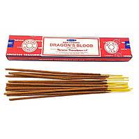 Аромапалочки Dragons Blood (Кровь Драконов) (15 грамм) (Satya) Масала благовоние