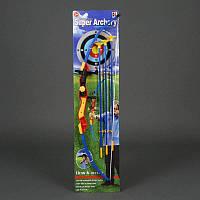 Лук 3 стрелы, лазер, на планш. /36-2/ (980-1)