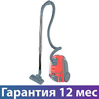 Пылесос Scarlett SC-VC80B299 красный, 2000 Вт, мешок 3.5 л, щетка пол-ковер, насадка мебель/щель