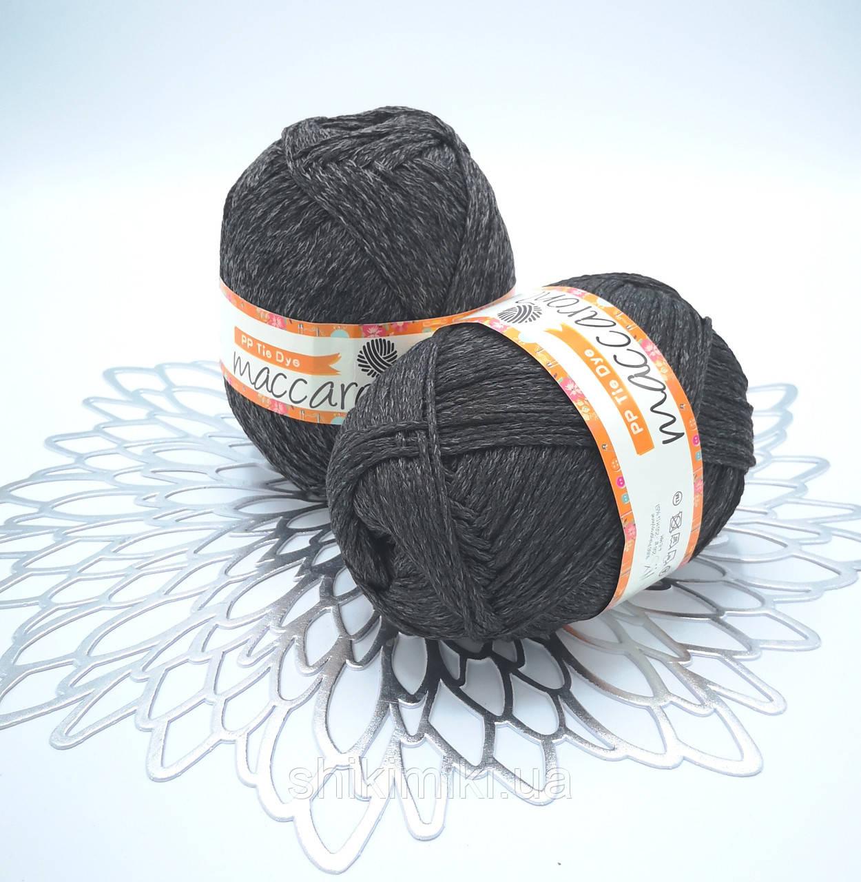 Трикотажный шнур PP Tie Dye, цвет Графит