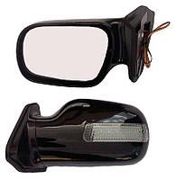 Зеркала ВАЗ 2101, 2106 черные удлиненные с поворотником