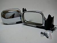 Зеркала ВАЗ 2107, 2105, 2104 хром широкие с поворотником