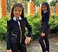 """Детский стильный пиджак 696-1 """"Мадонна Баска Змейки Подросток"""" в школьных расцветках, фото 2"""