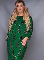 Женское платье батал Андра, фото 1