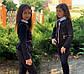 """Детский стильный пиджак 696-1 """"Мадонна Баска Змейки Подросток"""" в школьных расцветках, фото 4"""