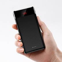 Внешний аккумулятор Baseus Mini Cu Digital Display Power Bank 10000mAh с дисплеем BS-M35 (Черный), фото 2