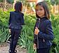 """Детский стильный пиджак 696-1 """"Мадонна Баска Змейки Подросток"""" в школьных расцветках, фото 8"""