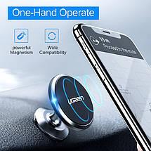 Магнитный автомобильный держатель для смартфона Ugreen 50871 (Черный), фото 3