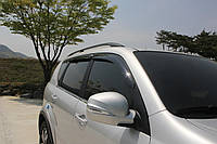 Дефлекторы окон (ветровики) Ssang Yong Rexton I/II 2001-2012  (Auto Clover)