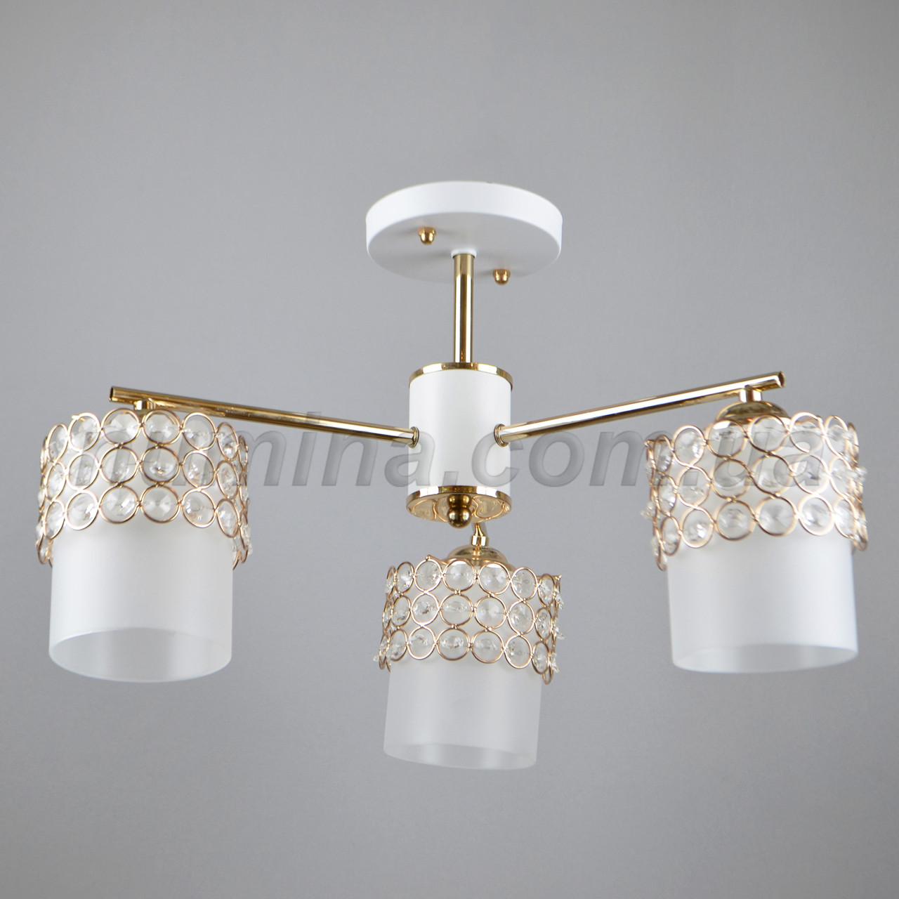 Люстра потолочная на три лампы 29-C779-3 FGD+WT