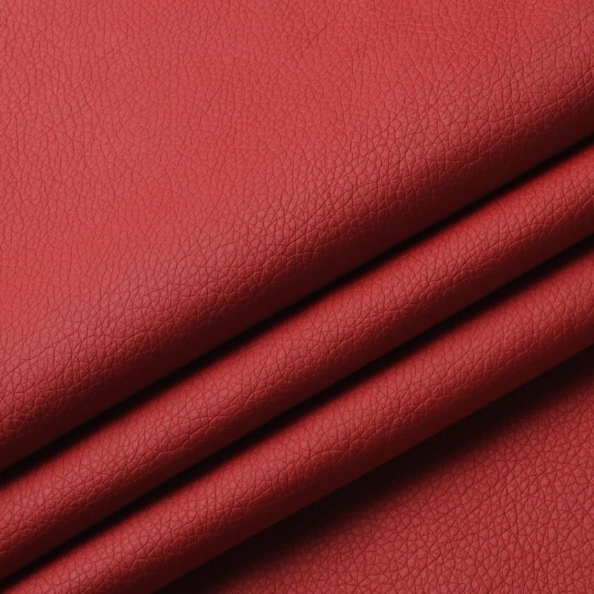 Кожзаменитель для мебели Флай алого цвета