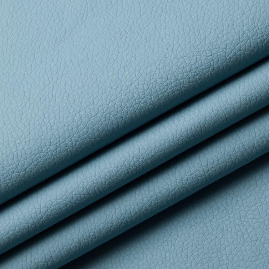 Шкірзамінник для меблів Флай блакитного кольору