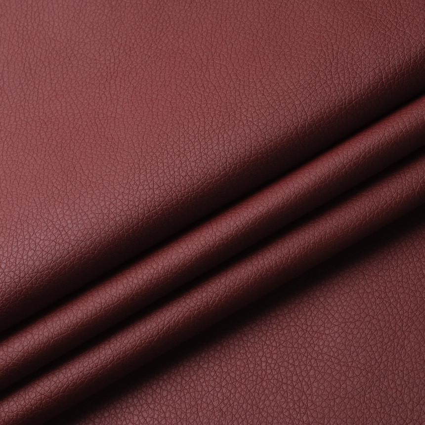 Кожзаменитель для мебели Флай бордового цвета