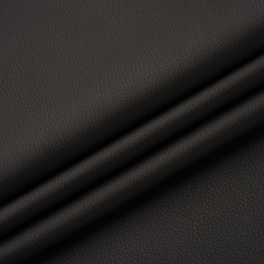 Шкірзамінник для меблів Флай чорно-коричневого кольору