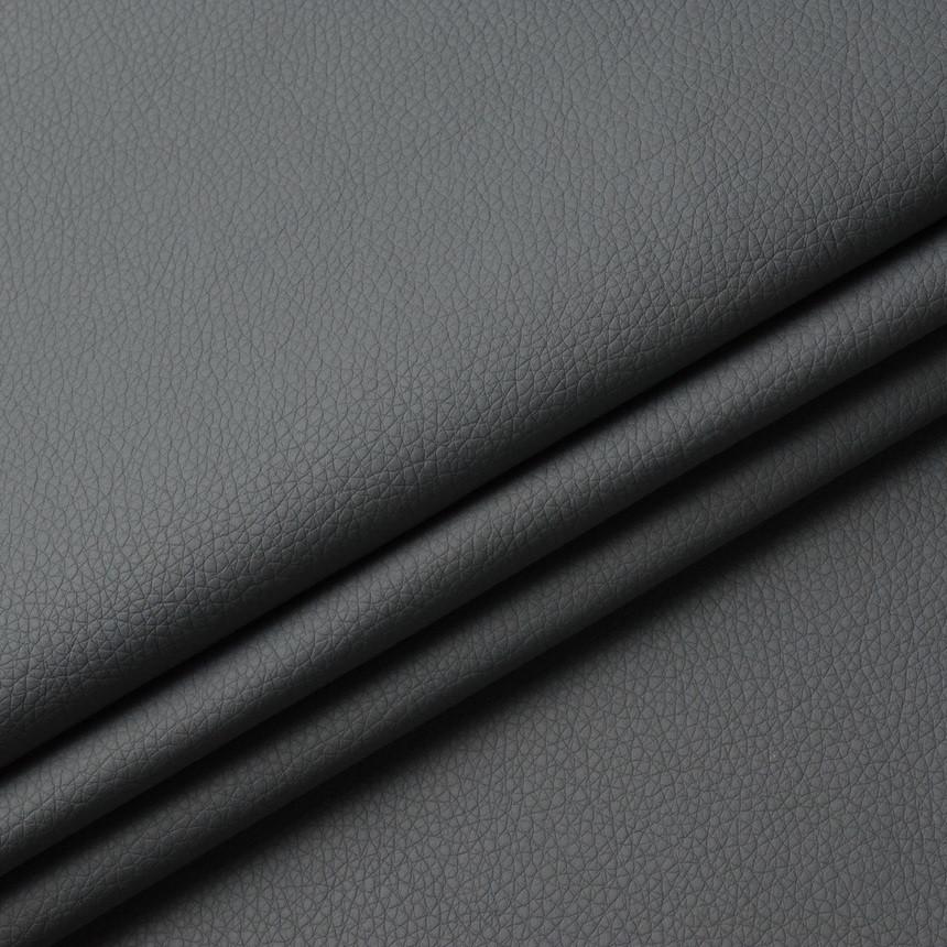 Шкірзамінник для меблів Флай темно-сірого кольору