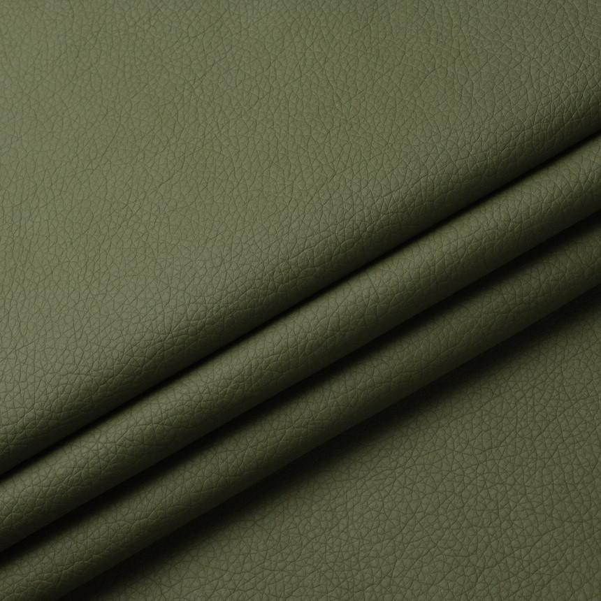 Шкірзамінник для меблів Флай кольору хакі