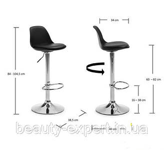 Высокий стульчик для макияжа, барный стул Тау Н