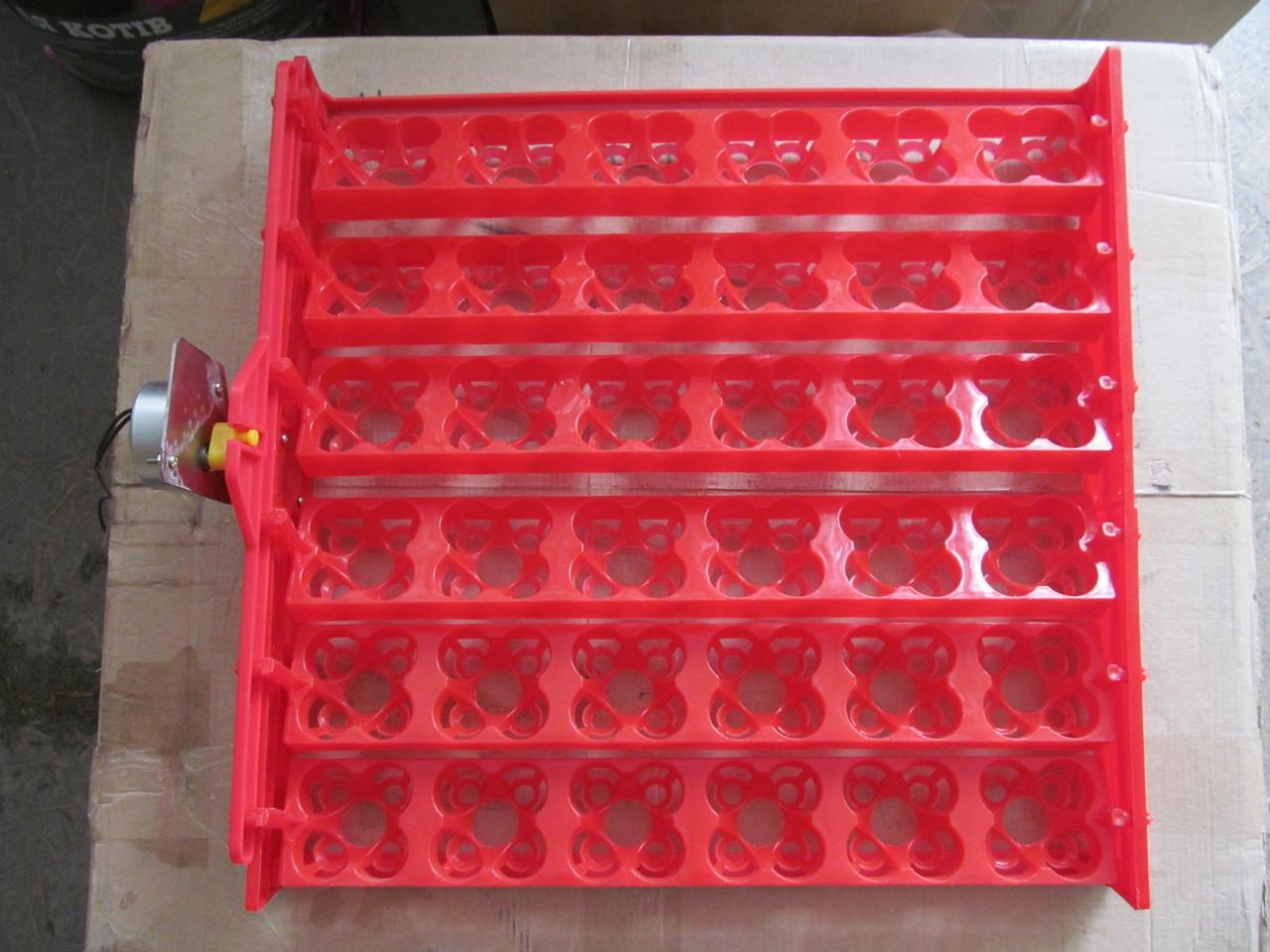 Лоток автоматического переворота яиц в инкубаторе Универсальный 36 куриных и 144 перепелиных яиц