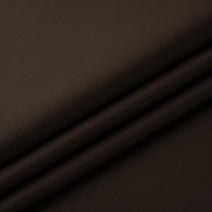 Шкірзамінник для меблів Флай темно-коричневого кольору