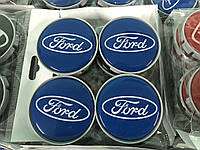 Ford Ranger 2007-2011 Колпачки в титановые диски 55 мм V4