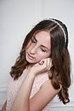 Прозрачный Обруч для волос с хрустальными бусинами, фото 6