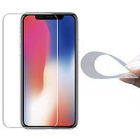 Гибкое защитное стекло 2.5D Nano (без упаковки) для Apple iPhone XR / 11