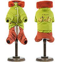 Костюм Pet Fashion Барни (оливковый), XS, фото 1