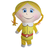 Антистрессовая игрушка-подушка, полистерольные шарики, фото 2