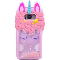Силиконовый чехол Unicorn 3D для Samsung G955 Galaxy S8 Plus
