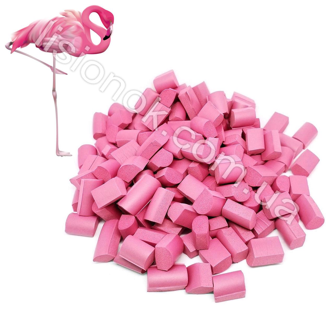 Фламинго Foam Chunks (фоам чанкс), американские добавки для слаймов