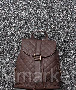 Стильний жіночий рюкзак / Стильный кожаный (кожа искусственная) женский рюкзак