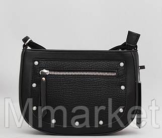 Стильний жіночий клатч на плече сумка / Стильный женский кожаный (кожа искусственная) клатч