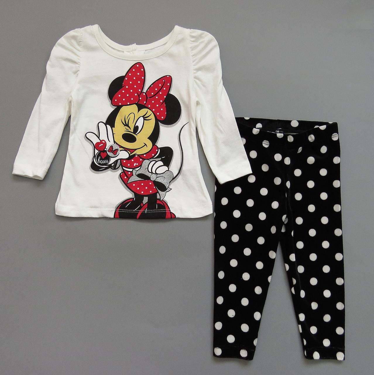 Костюм Minnie Mouse для девочки. 18 мес; 3 года