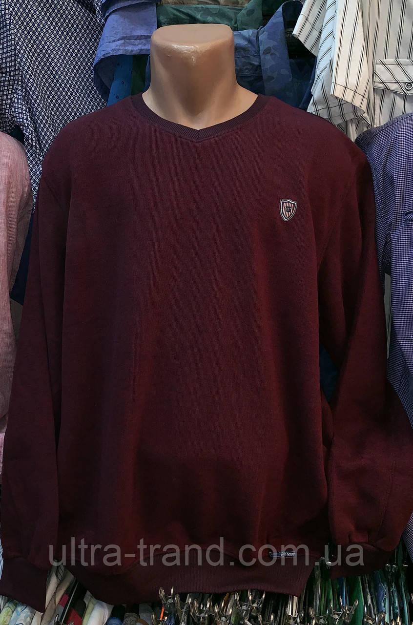 Мужской Турецкий свитер свитшот пуловер большого размера