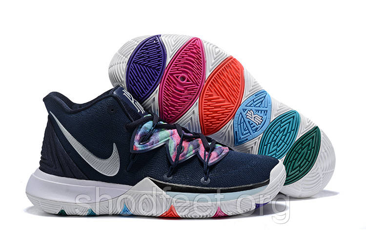 Женские баскетбольные кроссовки Nike Kyrie 5 Multi-Color