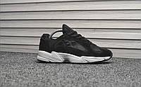 Мужские кроссовки Adidas Yung-1 Black & White