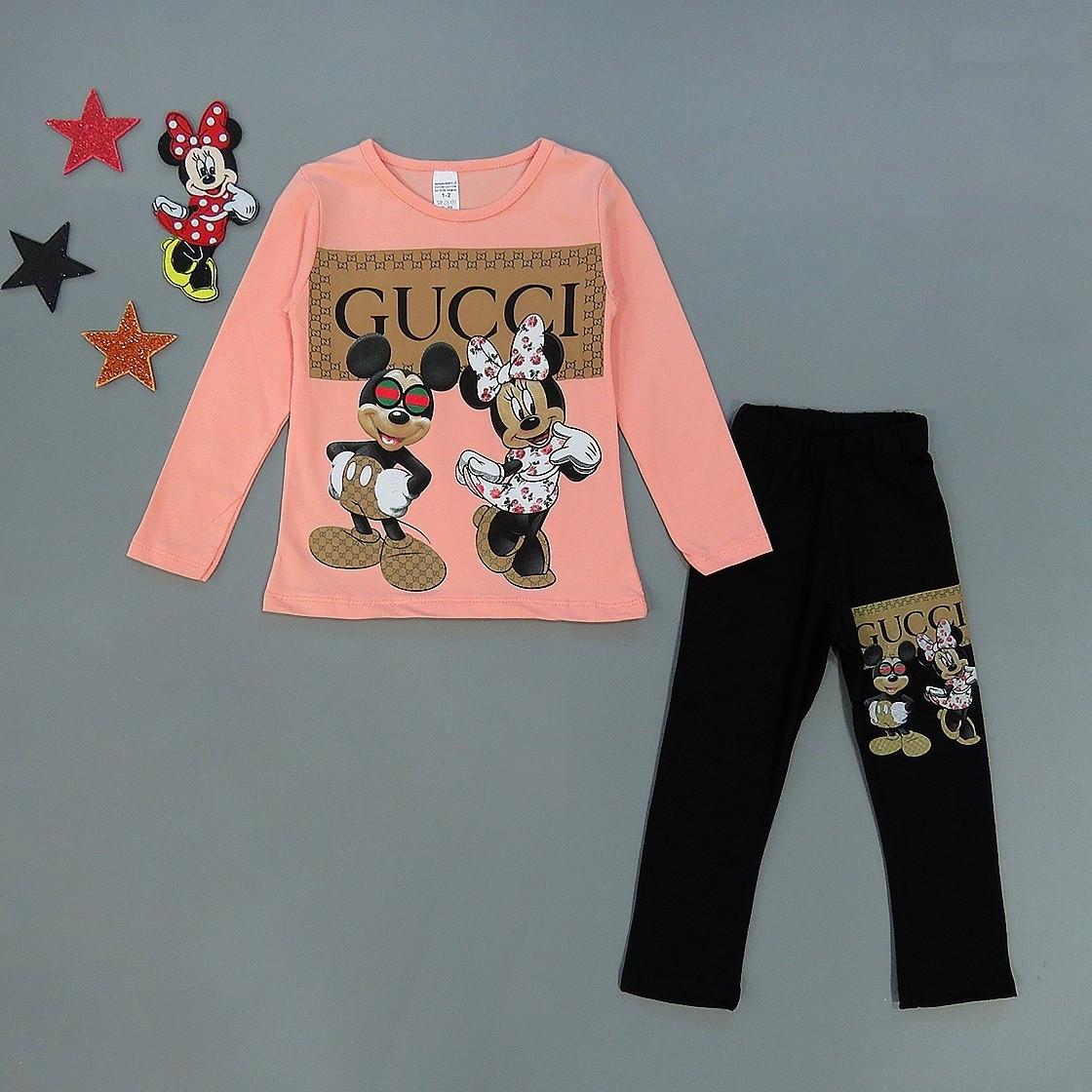 Костюм Minnie&Mickey Mouse для девочки. 1-2 года