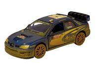 """Модель легковая 5"""" KT5328WY SUBARU IMPREZA WRC 2007(Muddy) метал.инерц.откр.дв.1:36 кор./96/ (KT5328WY)"""