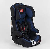 Автокресло универсальное 9-36 кг. JOY FX 1771, чёрно-синее, ISOFIX, фото 1